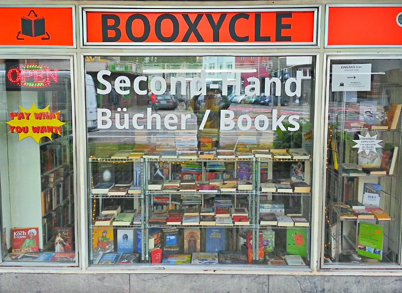 Booxycle Second Hand Bücher Used Books Bücherspenden Gebrauchte